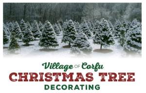 Corfu Village Christmas Tree Decorating