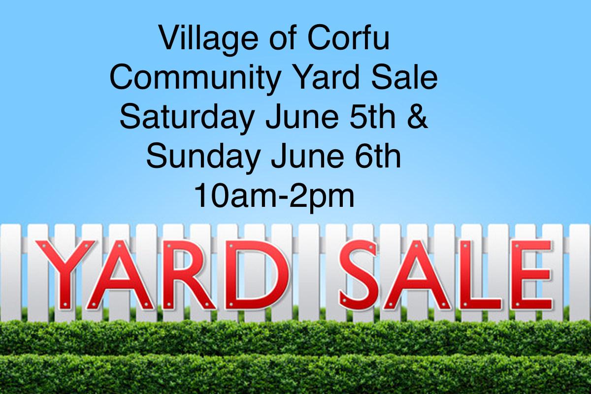 Community Yardsale Flyer