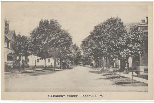 Allegheny Street Looking North