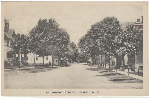 Allegheny Street Looking North