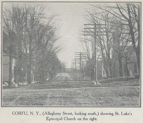Allegheny Street Looking South