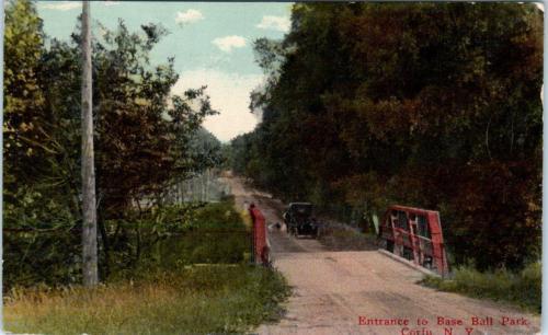 Entrance to Base Ball Park 1916