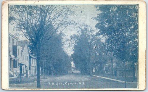 Railroad Avenue (now Maple Ave.) 1922
