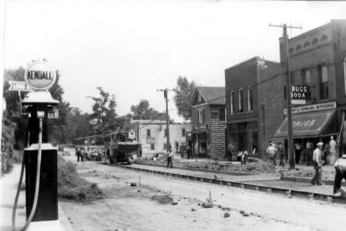 Paving Main Street