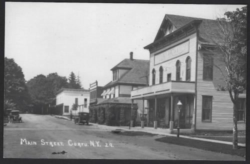Village Hall / Central Hotel / Corner Store 1929